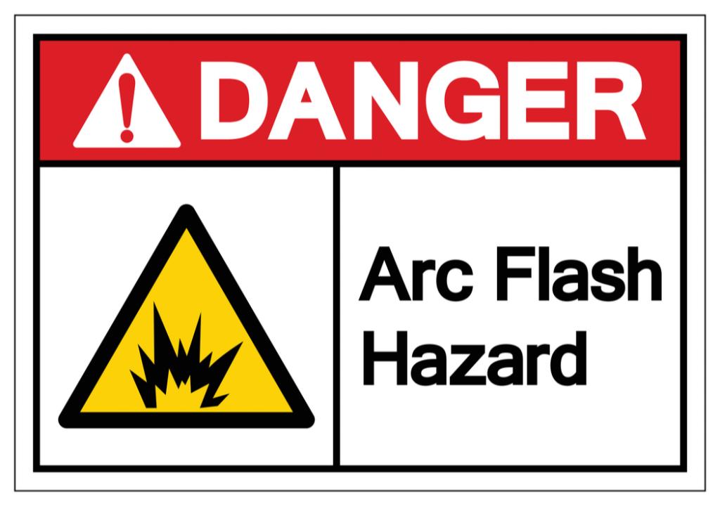 cartel de peligro eléctrico