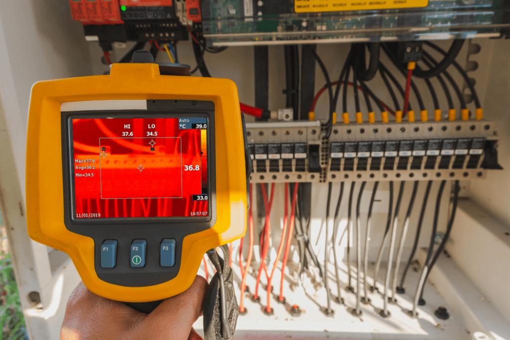 inspección termográfica de sistema electrico