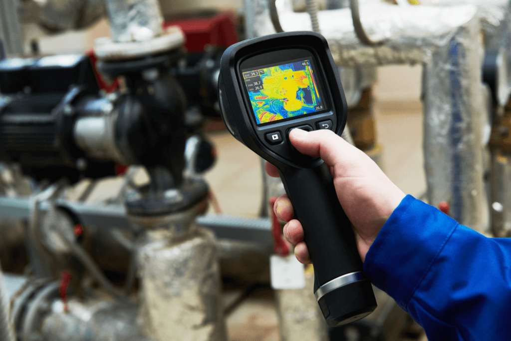 inspeccón termografica de maquinas electrica